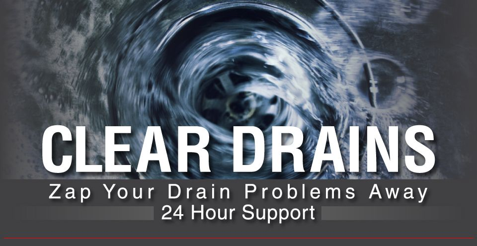 Clear Drains | Zap Your Drain Problems Away | 24 hour Support | Drain a plumber works on in Hamilton