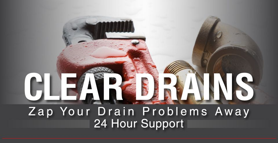 Clear Drains | Zap Your Drain Problems Away | 24 hour Support | Plumber in Hamilton