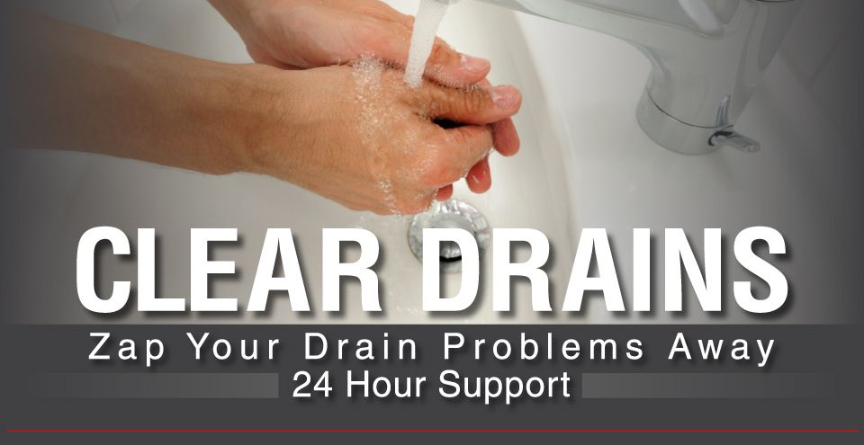 Clear Drains | Zap Your Drain Problems Away | 24 hour Support | Plumber in Hamilton washing hands